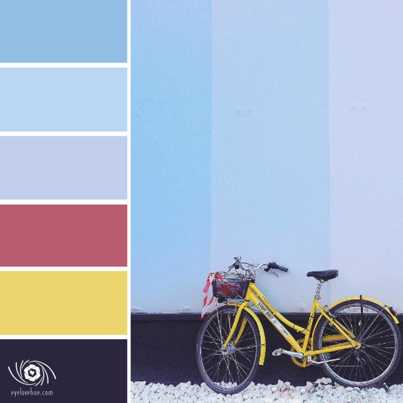 Bicycle Colorful Wall