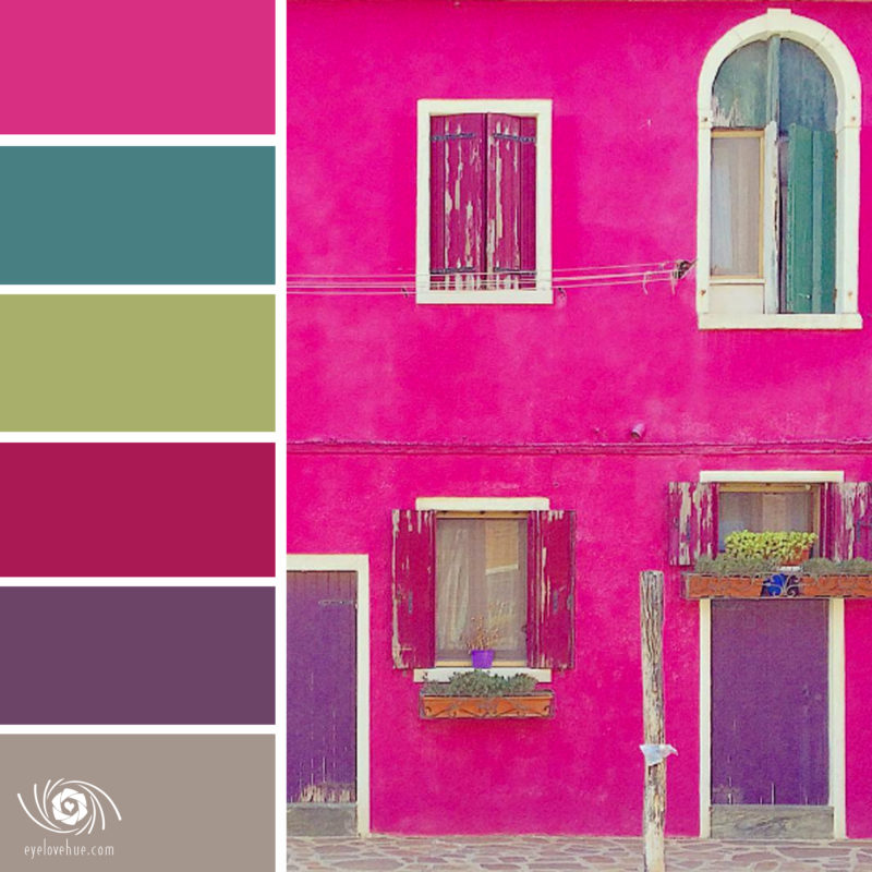Brightly Colored Wall