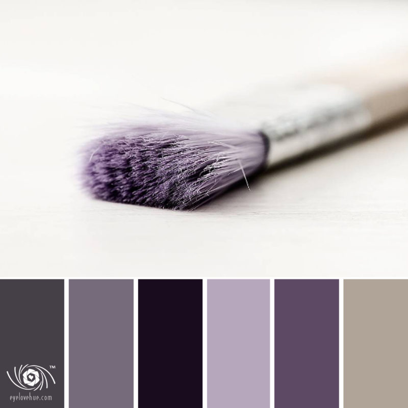 Purple Paint Brush